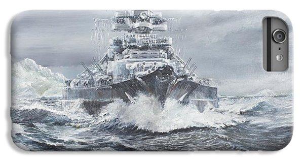Bismarck Off Greenland Coast  IPhone 6 Plus Case by Vincent Alexander Booth