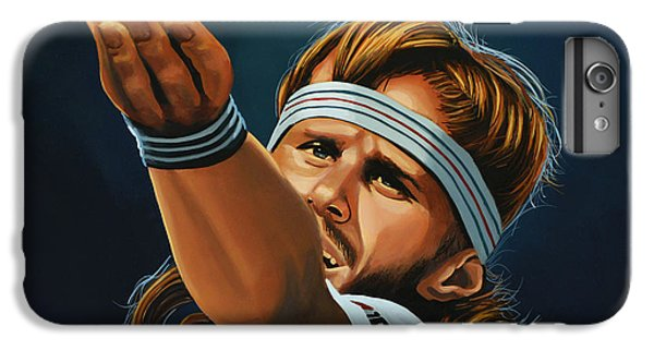 Bjorn Borg IPhone 6 Plus Case by Paul Meijering