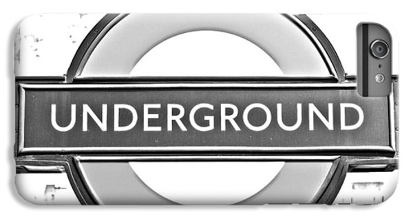 Black And White Underground IPhone 6 Plus Case by Georgia Fowler