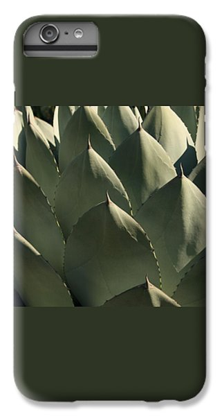 Blue Aloe IPhone 6 Plus Case by Ellen Henneke
