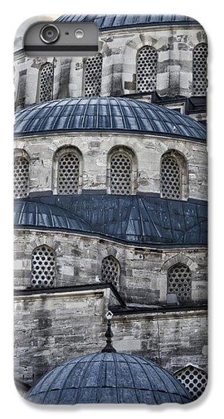 Blue Dawn Blue Mosque IPhone 6 Plus Case by Joan Carroll