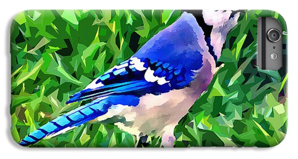 Blue Jay IPhone 6 Plus Case by Stephen Younts