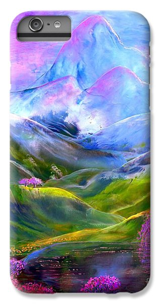 Blue Mountain Pool IPhone 6 Plus Case by Jane Small