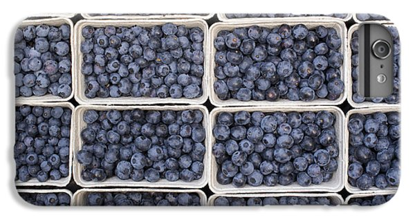 Blueberries IPhone 6 Plus Case by Tim Gainey