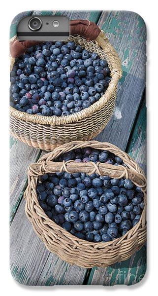 Blueberry Baskets IPhone 6 Plus Case by Edward Fielding