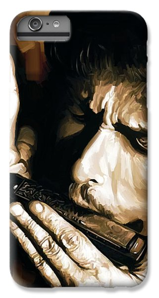 Bob Dylan Artwork 2 IPhone 6 Plus Case by Sheraz A