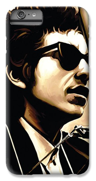 Bob Dylan Artwork 3 IPhone 6 Plus Case by Sheraz A