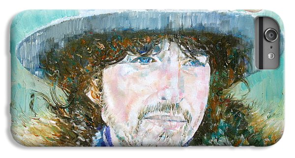 Bob Dylan Oil Portrait IPhone 6 Plus Case by Fabrizio Cassetta