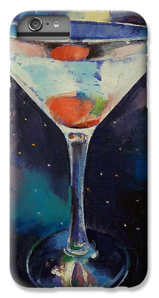 Bombay Sapphire Martini IPhone 6 Plus Case by Michael Creese