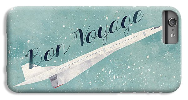 Bon Voyage IPhone 6 Plus Case by Randoms Print