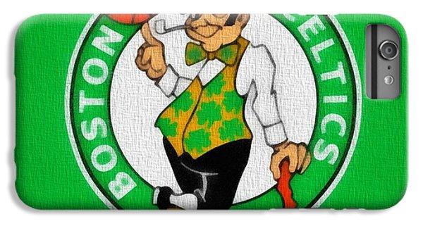 Boston Celtics Canvas IPhone 6 Plus Case by Dan Sproul