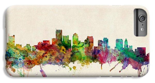 Boston Skyline IPhone 6 Plus Case by Michael Tompsett