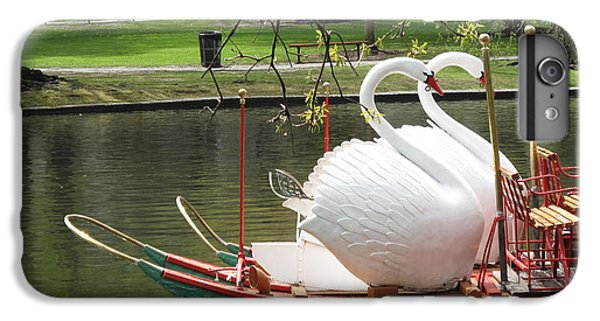 Boston Swan Boats IPhone 6 Plus Case by Barbara McDevitt