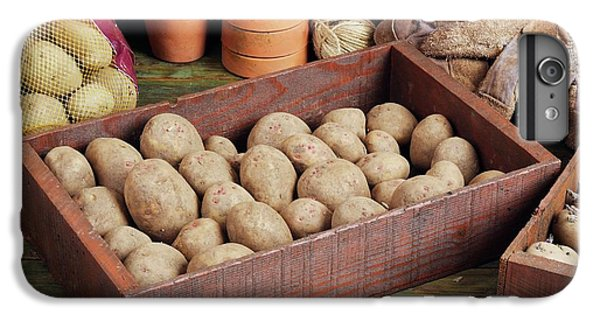 Box Of Potatoes IPhone 6 Plus Case by Geoff Kidd