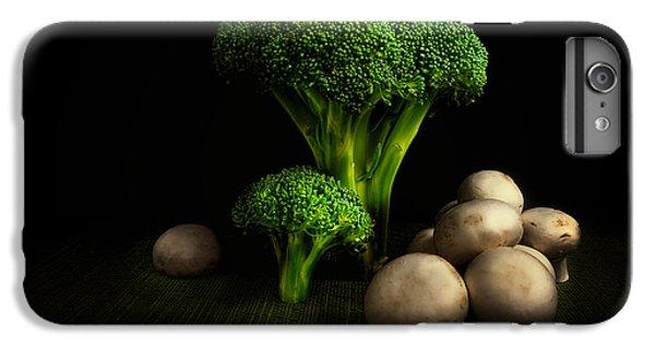 Broccoli Crowns And Mushrooms IPhone 6 Plus Case by Tom Mc Nemar
