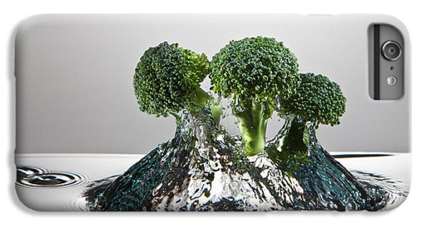 Broccoli Freshsplash IPhone 6 Plus Case by Steve Gadomski
