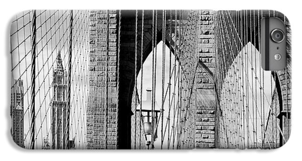 Brooklyn Bridge New York City Usa IPhone 6 Plus Case by Sabine Jacobs