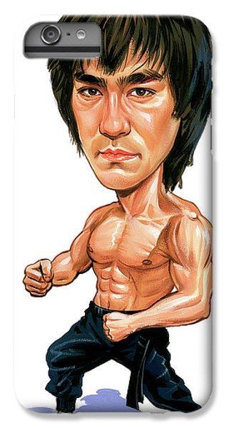 Bruce Lee IPhone 6 Plus Case by Art