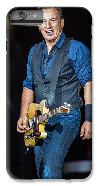 Bruce Springsteen IPhone 6 Plus Case by Georgia Fowler