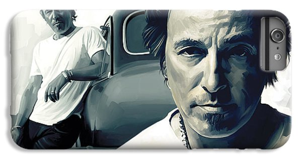 Bruce Springsteen The Boss Artwork 1 IPhone 6 Plus Case by Sheraz A