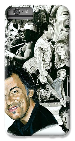 Bruce Springsteen Through The Years IPhone 6 Plus Case by Ken Branch