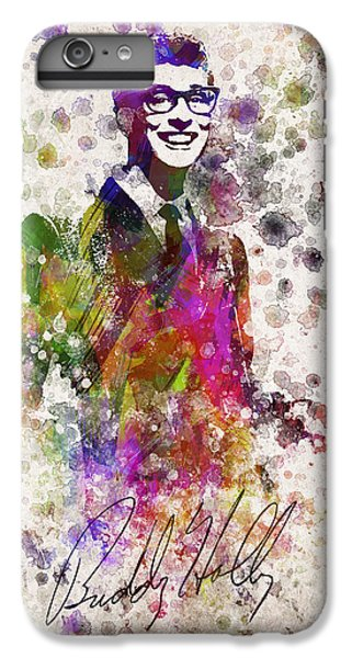 Buddy Holly In Color IPhone 6 Plus Case by Aged Pixel