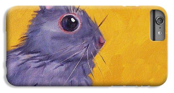 Bunny IPhone 6 Plus Case by Nancy Merkle
