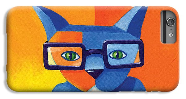 Business Cat IPhone 6 Plus Case by Mike Lawrence