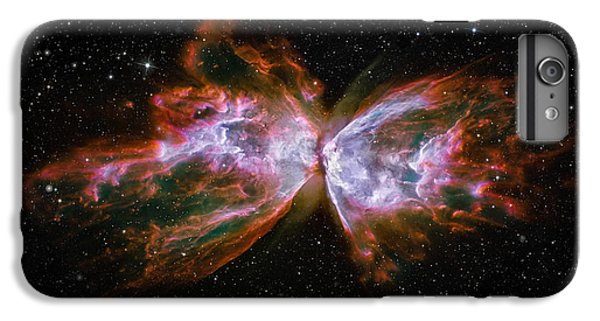 Butterfly Nebula Ngc6302 IPhone 6 Plus Case by Adam Romanowicz