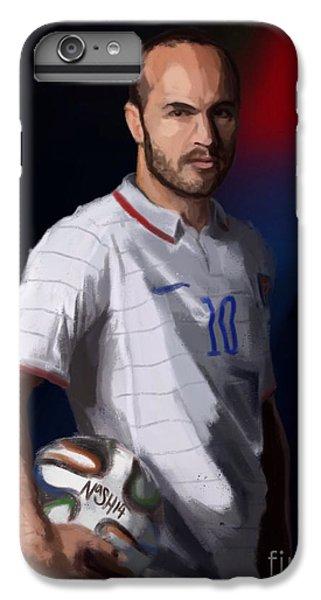 Captain America IPhone 6 Plus Case by Jeremy Nash