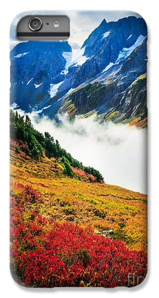 Cascade Pass Peaks IPhone 6 Plus Case by Inge Johnsson