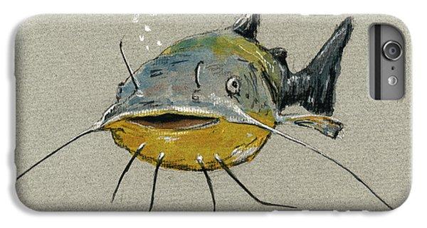 Catfish IPhone 6 Plus Case by Juan  Bosco