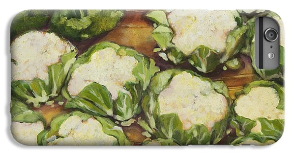 Cauliflower March IPhone 6 Plus Case by Jen Norton