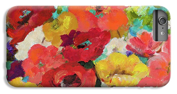 Cheerful Flowers II IPhone 6 Plus Case by Patricia Pinto