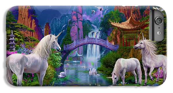 Chinese Unicorns IPhone 6 Plus Case by Jan Patrik Krasny