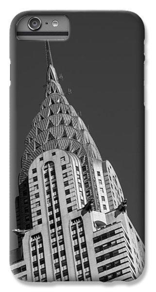 Chrysler Building Bw IPhone 6 Plus Case by Susan Candelario