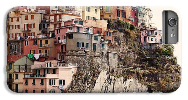 Cinque Terre Mediterranean Coastline IPhone 6 Plus Case by Kim Fearheiley