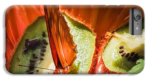 Citrus Butterfly IPhone 6 Plus Case by Karen Wiles