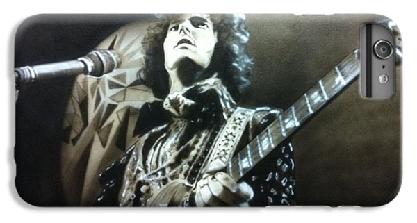 Eric Clapton - ' Clapton ' IPhone 6 Plus Case by Christian Chapman Art