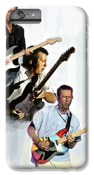 Clapton Eric Clapton IPhone 6 Plus Case by Iconic Images Art Gallery David Pucciarelli