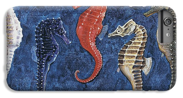 Close-up Of Five Seahorses Side By Side  IPhone 6 Plus Case by English School