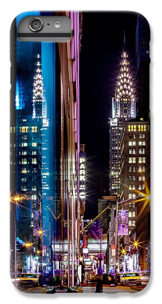 Color Of Manhattan IPhone 6 Plus Case by Az Jackson