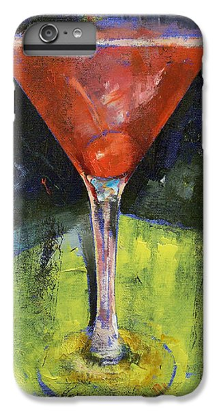 Comfortable Cherry Martini IPhone 6 Plus Case by Michael Creese