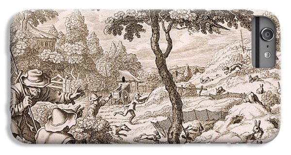 Cony Catching, Engraved By Wenceslaus IPhone 6 Plus Case by Francis Barlow