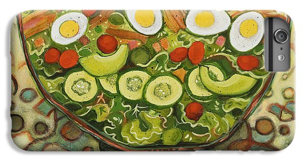 Cool Summer Salad IPhone 6 Plus Case by Jen Norton