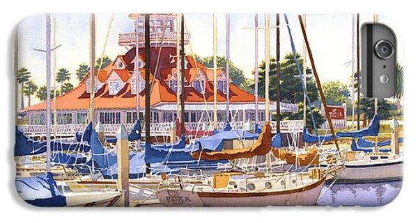 Coronado Boathouse IPhone 6 Plus Case by Mary Helmreich