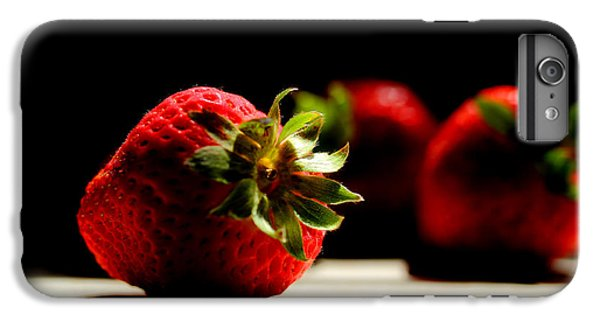 Countertop Strawberries IPhone 6 Plus Case by Michael Eingle