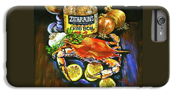 Crab Fixin's IPhone 6 Plus Case by Dianne Parks