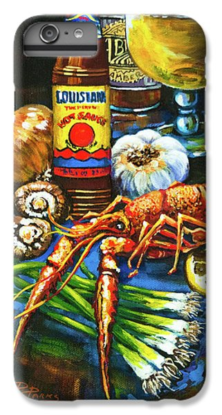 Crawfish Fixin's IPhone 6 Plus Case by Dianne Parks