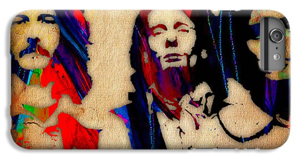 Cream Eric Clapton Jack Bruce Ginger Baker IPhone 6 Plus Case by Marvin Blaine